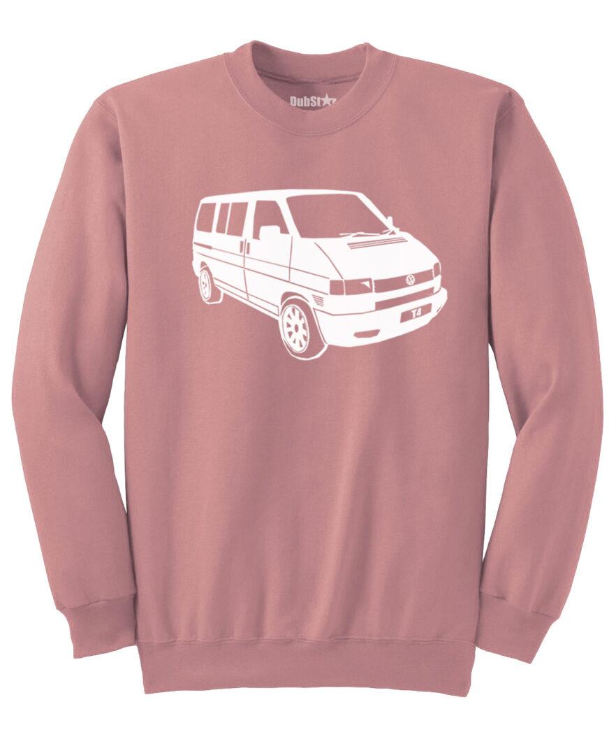 VW T4 Sweater - dusty pink