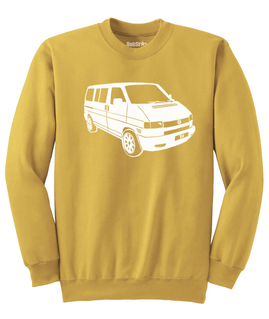 VW T4 Sweater - gold