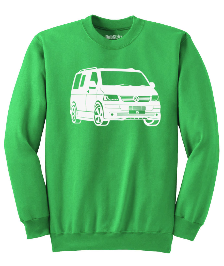 VW T5 Sweater - green