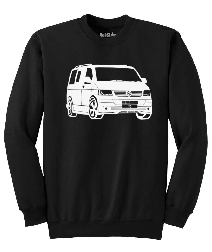 VW T5 Sweater - black