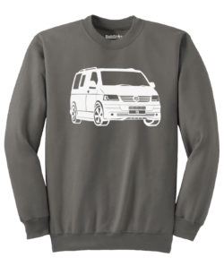 VW T5 Sweater - charcoal
