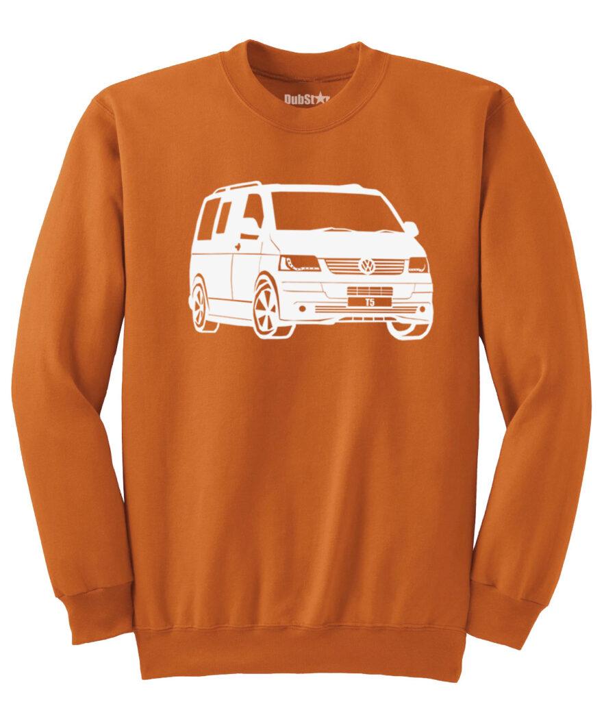 VW T5 Sweater - orange