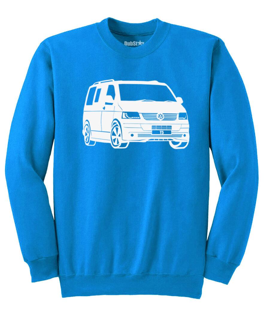 VW T5 Sweater - sapphire blue