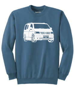 VW T5 Sweater - indigo blue