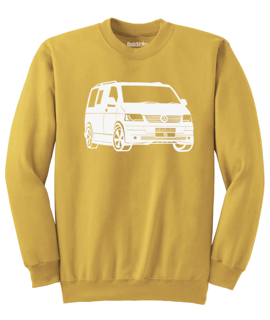 VW T5 Sweater - gold