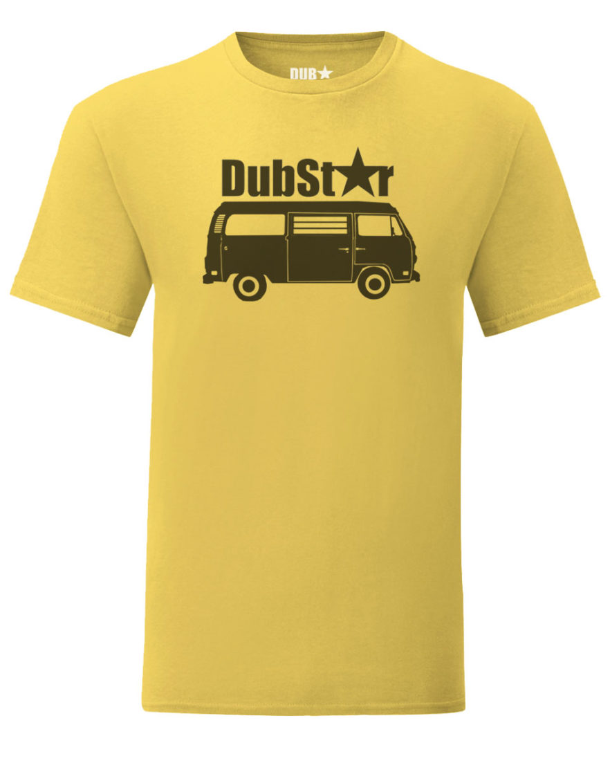vw t2 tee - sunflower