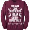 Frankie Says - Maroon
