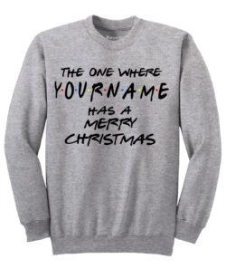 Friends sweater - grey