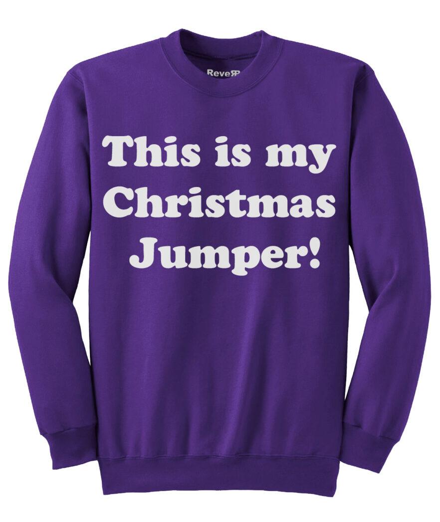 My Christmas Jumper - Purple