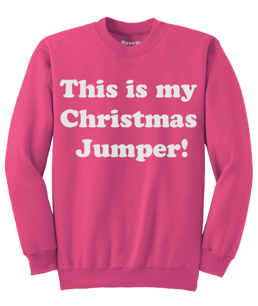 My Christmas Jumper - Pink