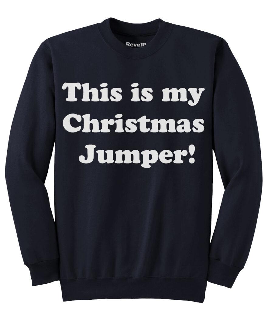 My Christmas Jumper - Navy