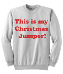 My Christmas Jumper - White