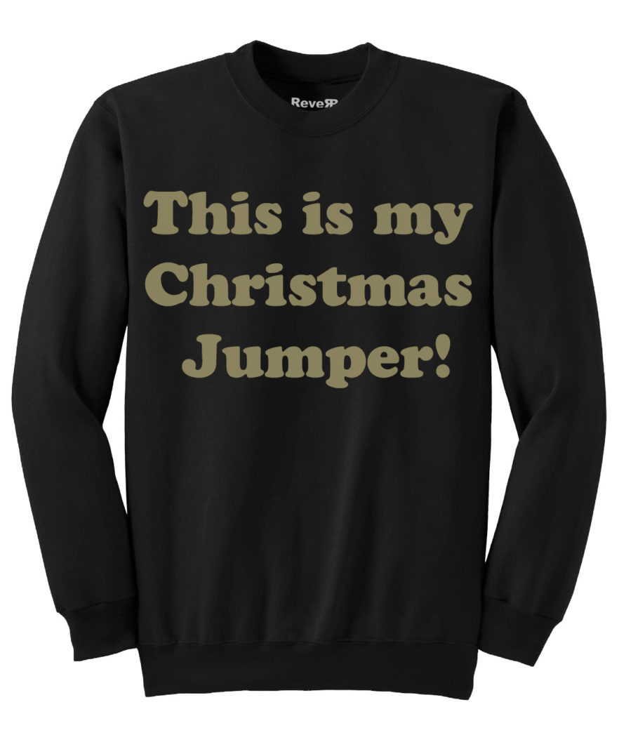 My Christmas Jumper - Black